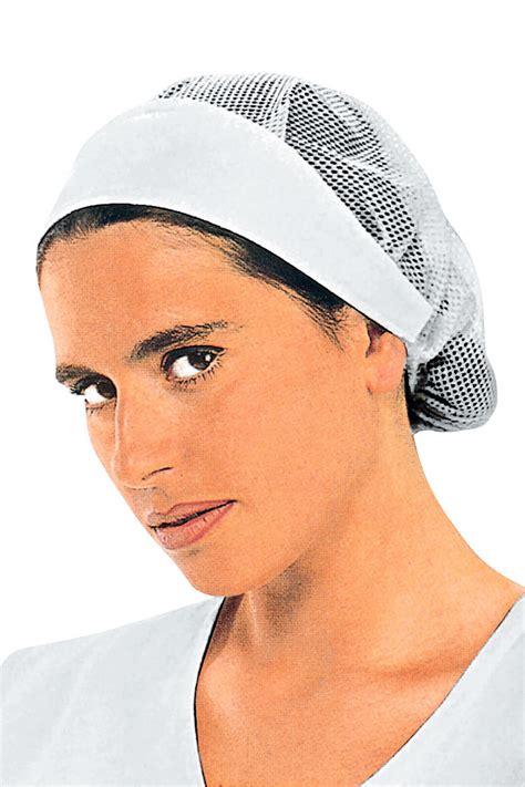cuisine de femme de de cuisine femme avec filet chapeaux de cuisine