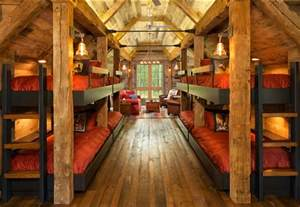 Home Interiors Home Bunk House With Rustic Interiors Home Bunch Interior Design Ideas