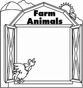 Farm clipart black and white - Pencil and in color farm ...