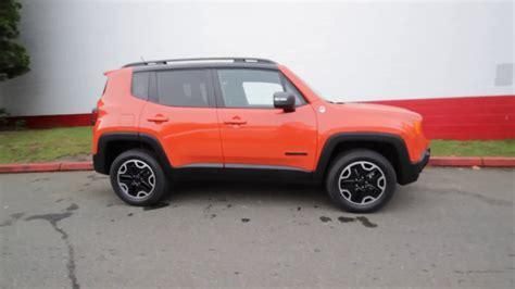 jeep renegade orange 2017 2017 jeep renegade trailhawk 4x4 omaha orange hpe40537