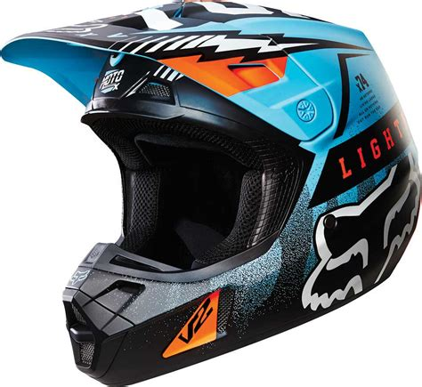 motocross helmets 2016 fox racing v2 vicious helmet motocross dirtbike mx
