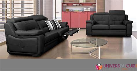 canapé relax cuir center photos canapé 2 places relaxation électrique cuir