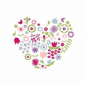 Herz Mit Blumen : herz von blumen f r muttertag vektor abbildung illustration von gru karte 69486015 ~ Frokenaadalensverden.com Haus und Dekorationen