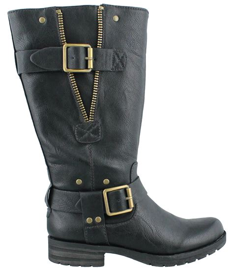 womens naturalizer ballona wide shaft mid calf boots