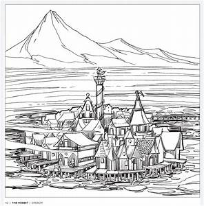 Tolkien's World A Colouring Book Free Pattern Download  WHSmith Blog