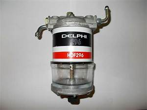 Diesel Fuel    Water Trap Separator Assy Deep Bowl Type Cav