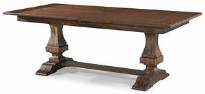 Trisha39s Trestle Table Simple Elegance FrontRoom