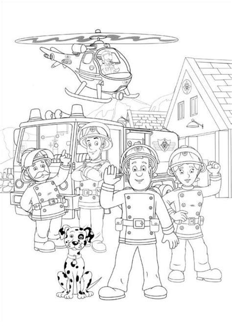 Kidsnfunde  38 Ausmalbilder von Feuerwehrmann Sam