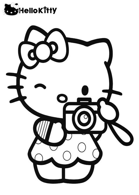 167 best Hello Kitty images on Pinterest Coloring pages