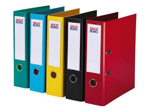 fourniture de bureau papeterie classeurs couleur à levier plastifiés dos 7 5 cm