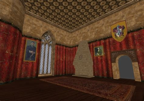 gryffindor common room image harry potter modification
