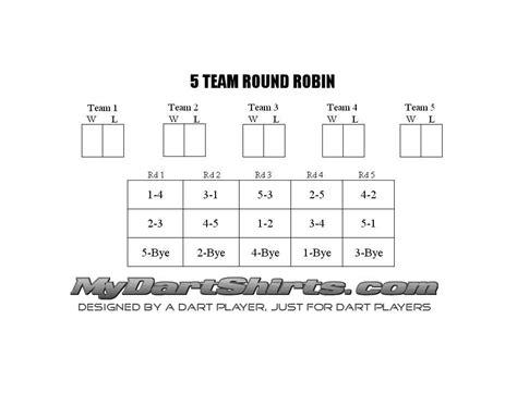 run  dart tournament rags