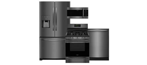 Frigidaire Gallery Smudge-proof Black Stainless Steel