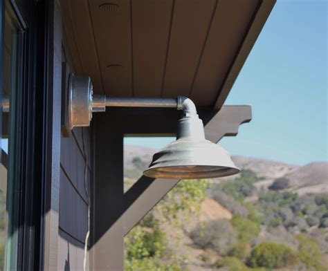 galvanized led barn lighting combines best of style