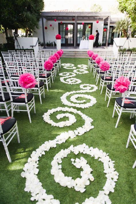 Flower Petals Down The Aisle — Trendy Bride Fine Art