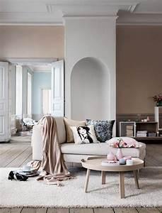 la couleur saumon les tendances chez les couleurs d With tapis couloir avec petit canapé beige