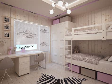 chambre fille lit superposé дизайн детской 10 кв м для двух девочек