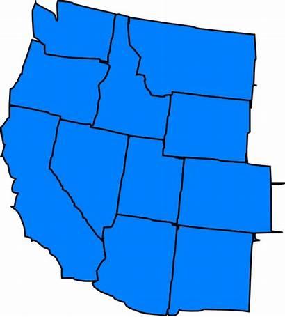Western States Washington Clip Clker Clipart Domain
