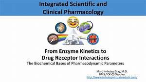 From Enzyme Kinetics To Drug Receptor Interactions By Marc Imhotep Cray  M D