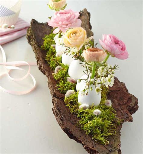 dekorieren mit naturmaterialien ideen für jede jahreszeit natur dekorationen kreativ startup zuk 252 nftige projekte ostern ostern deko und ostertischdeko