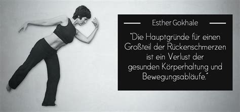 Nie Wieder Rückenschmerzen by Nat 252 Rliche K 246 Rperhaltung Mit Esther Glokhale