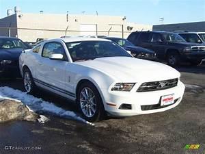2010 Performance White Ford Mustang V6 Premium Coupe #26935230 Photo #2 | GTCarLot.com - Car ...