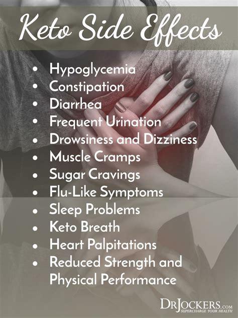 common keto side effects keto diet risks