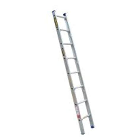 aluminium ladder bunnings gorilla 2 4m 140kg industrial aluminium ladder