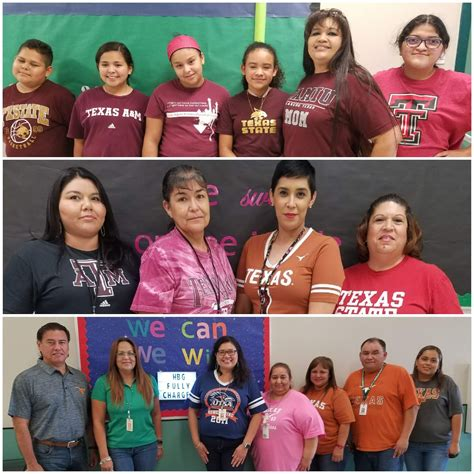 national college colors day eagle pass isd ivision bobcats celebrate national