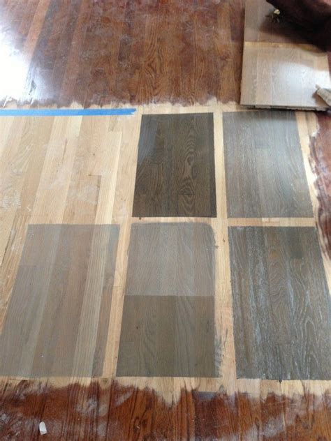 Refinishing Parquet Floors Before And After by 25 Best Ideas About Grey Hardwood Floors On Pinterest