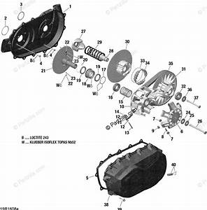 Can-am Atv 2016 Oem Parts Diagram For Transmission