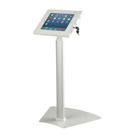 ipad kiosk table mount height adjustable trade show ipad stand discount displays