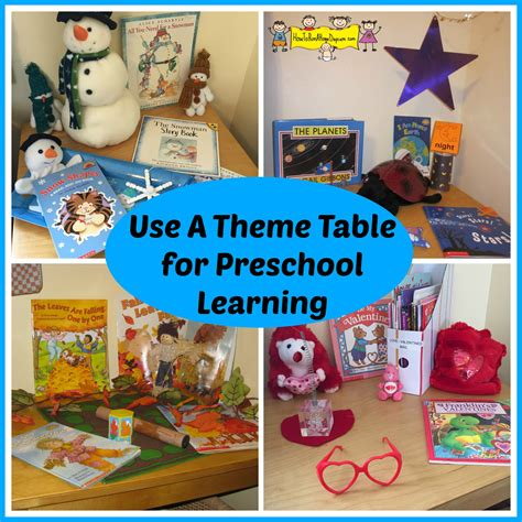 table activities for preschoolers use a theme table for preschool learning how to run a
