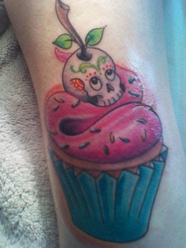 Cupcake Tattoos Dia Muertos Tattoo