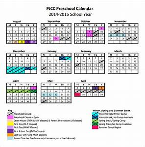 preschool calendar templates 8 download free documents With preschool calendar template printables