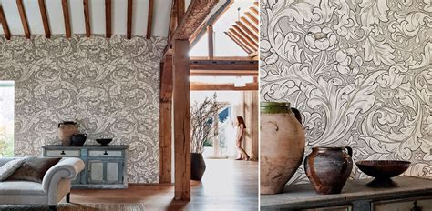 william morris  designer fabric  wallpaper