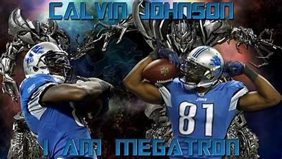 Lions Detroit Calvin Johnson Megatron Am Wallpapers