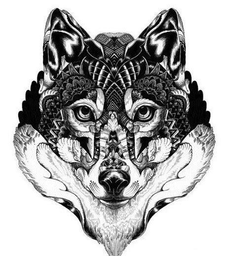 tatouage loup les meilleures idees pour  tattoo loup