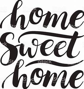 Home sweet home clipart black and white - BBCpersian7