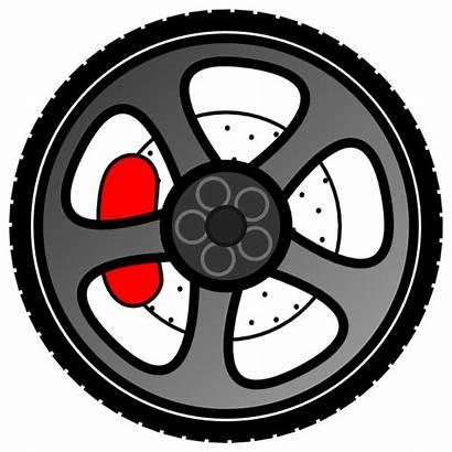Wheel Clip Clipart Vector Clker