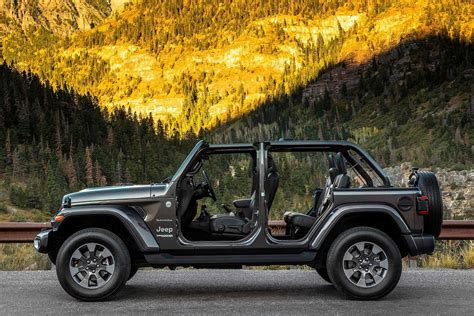 jeep without doors 2018 jeep wrangler unveiled evolution of a legend autobics