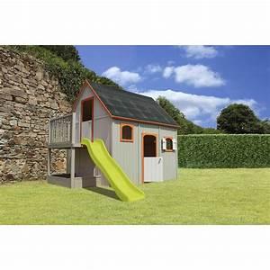 Maison Enfant Castorama : maisonnette bois duplex soulet 6 5 m leroy merlin ~ Premium-room.com Idées de Décoration