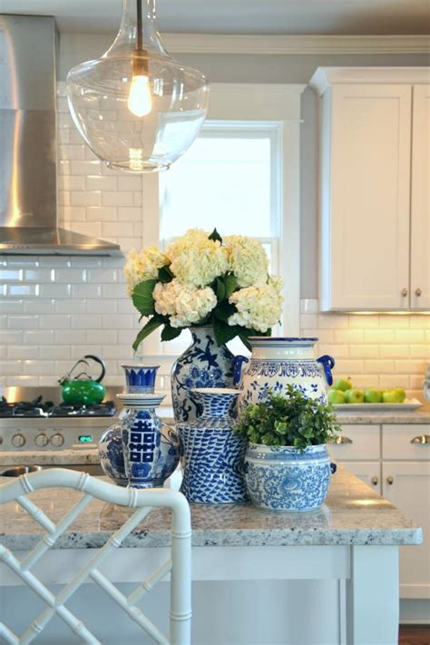 Decorating Ideas For Blue And White Kitchen by Photo Page Hgtv