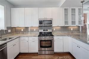 kitchen backsplash ideas with white cabinets railing With backsplash for kitchen with white cabinet