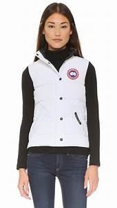 Canada Goose Freestyle Vest In White Lyst