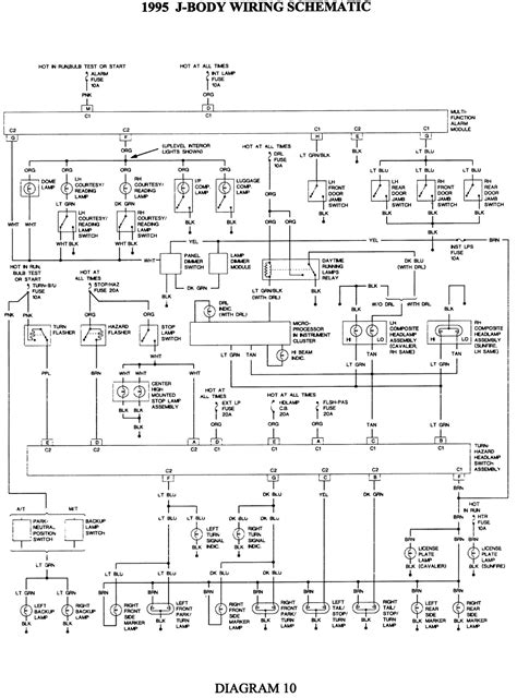 2003 Pontiac Sunfire Wiring Schematic by My 95 Cavalier 2 Dr Coupe Has An Event Every 72 Hours