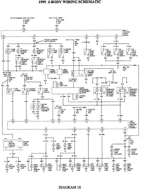 2005 Chevy Cavalier Wiring Harnes Diagram by Repair Guides Wiring Diagrams Wiring Diagrams
