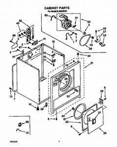 Roper El3030ww1 Dryer Parts