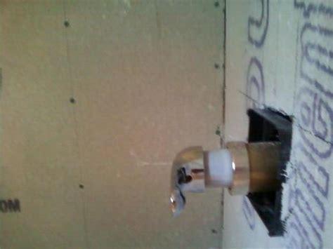 Shower Valve prep done wrong   Page 2   Ceramic Tile