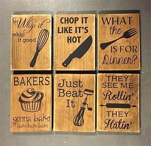1000 ideas about funny home decor on pinterest kitchen for Kitchen colors with white cabinets with wooden wall art signs